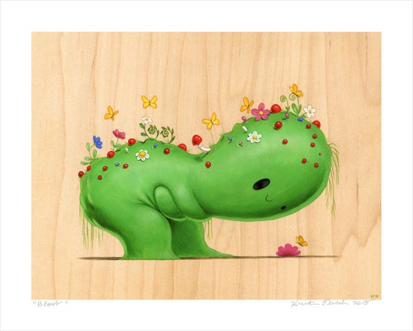 """Image of """"Bloob"""" Giclee Print"""