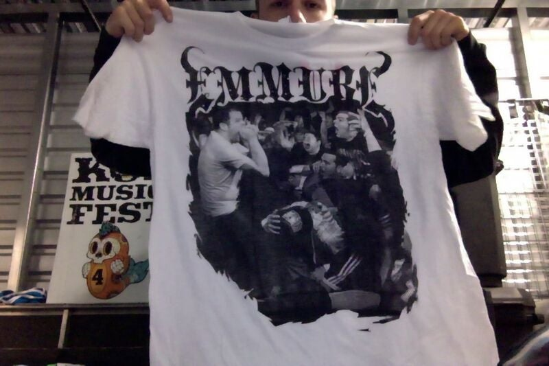 "Image of EMMURE ""WARPED 2010"" TOUR SHIRT"