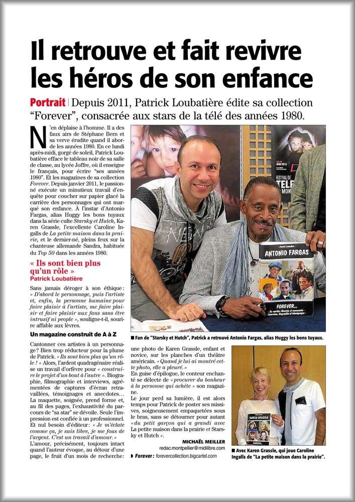 Image of ANTONIO FARGAS FOREVER (Presse)