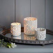 Image of Tangled Web Tea Light Holder