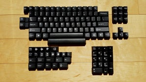 Image of JT Keycap Classic Black Keyset