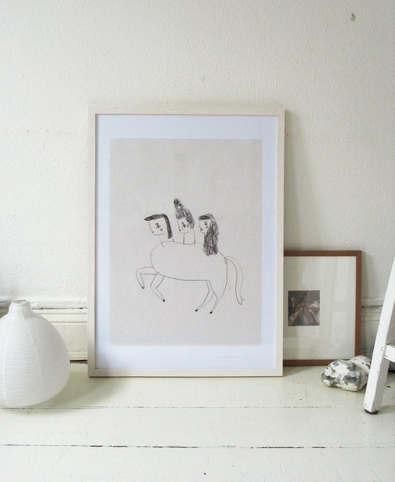 Image of little horse poster