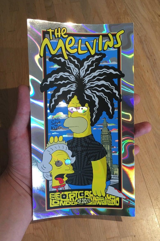 Image of Melvins Handbill Lava Variant