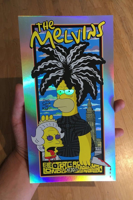 Image of Melvins Handbill Rainbow Variant
