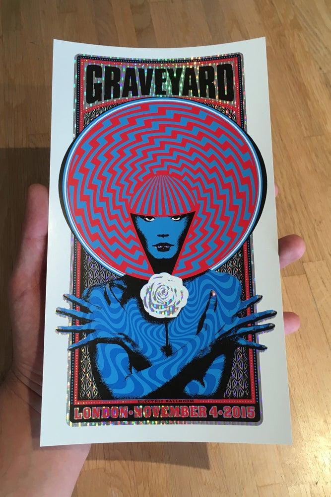 Image of Graveyard Handbill Holographic Foil