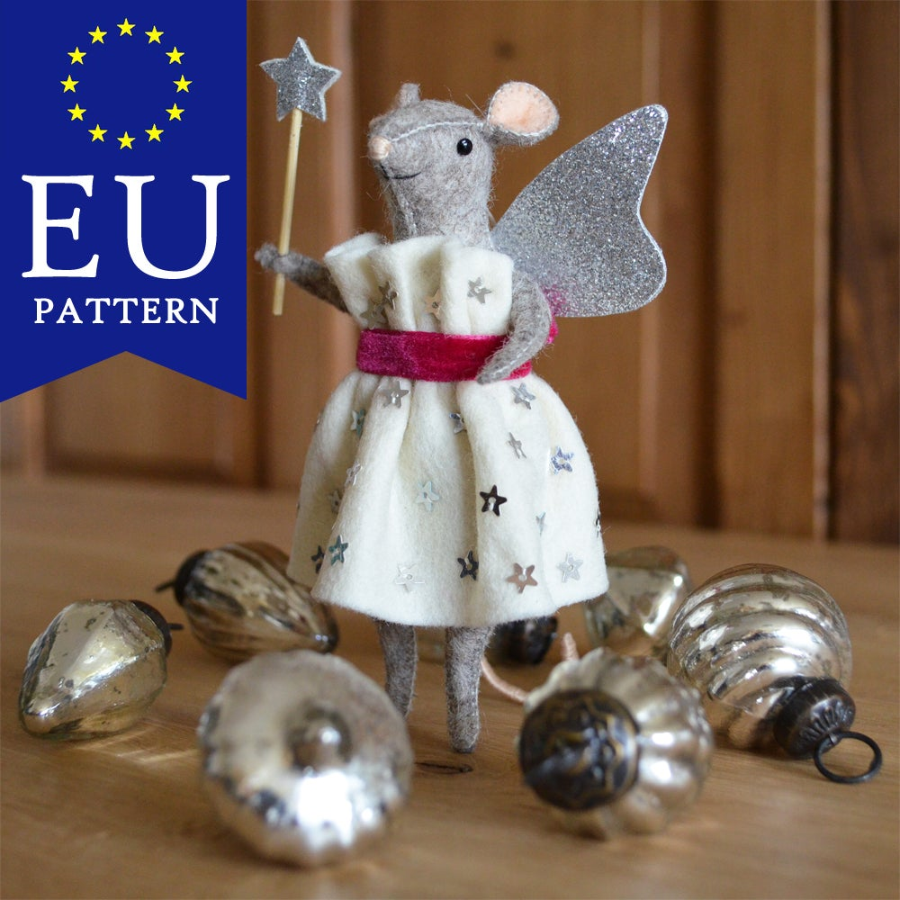 Image of EU PDF Pattern - Fairy Godmouse