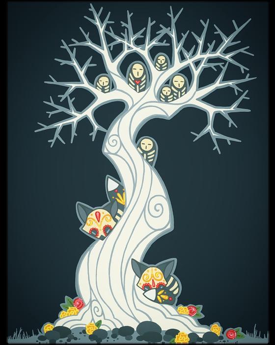 Image of 'Tree of Life' - Print