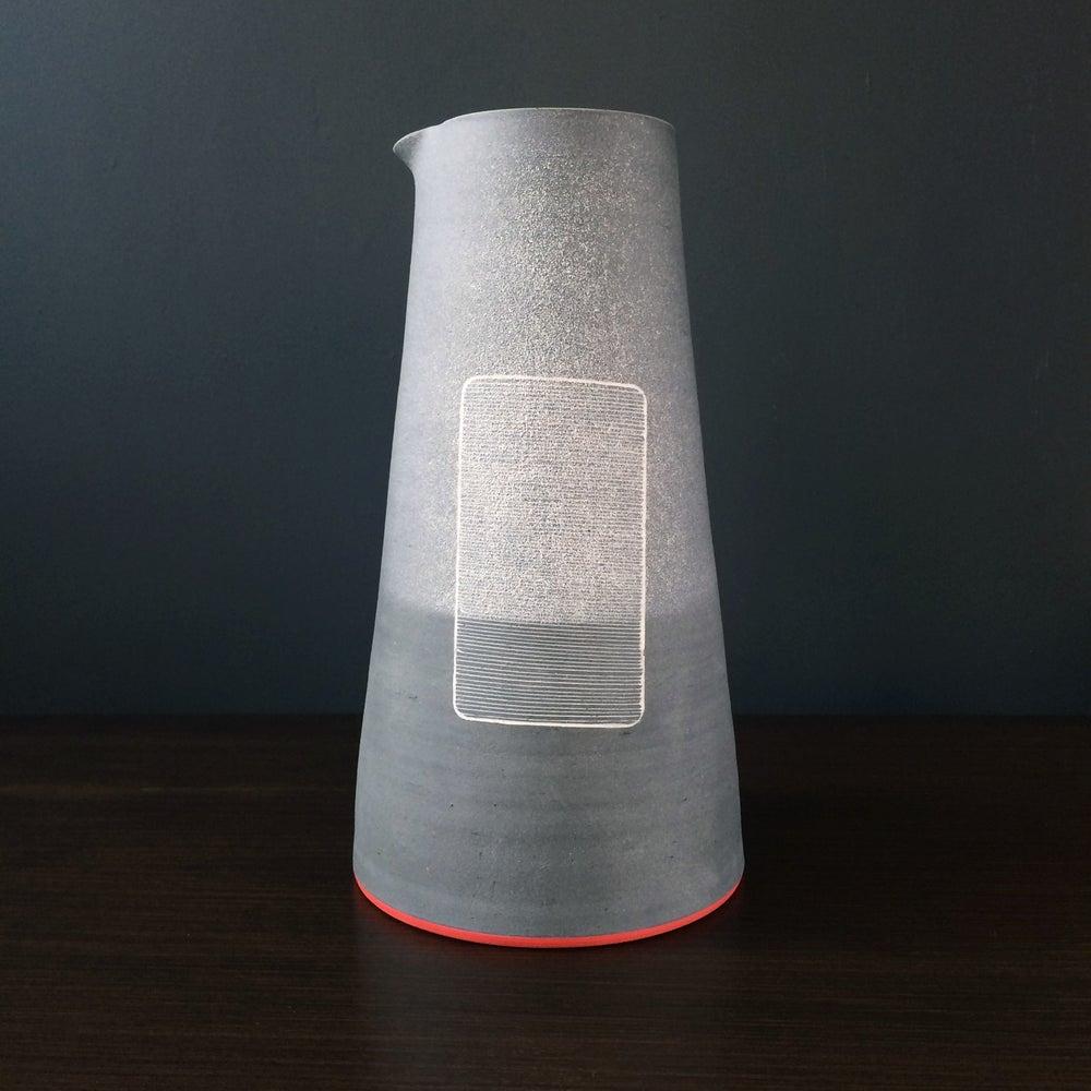 Image of 'Fine Mist Grille' Sculptural Jug Form by James & Tilla Waters.
