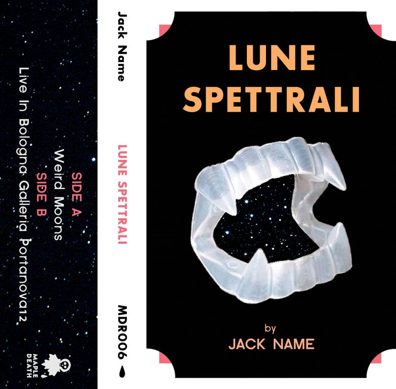 Image of Jack Name - Lune Spettrali C60 tape (MDR006)