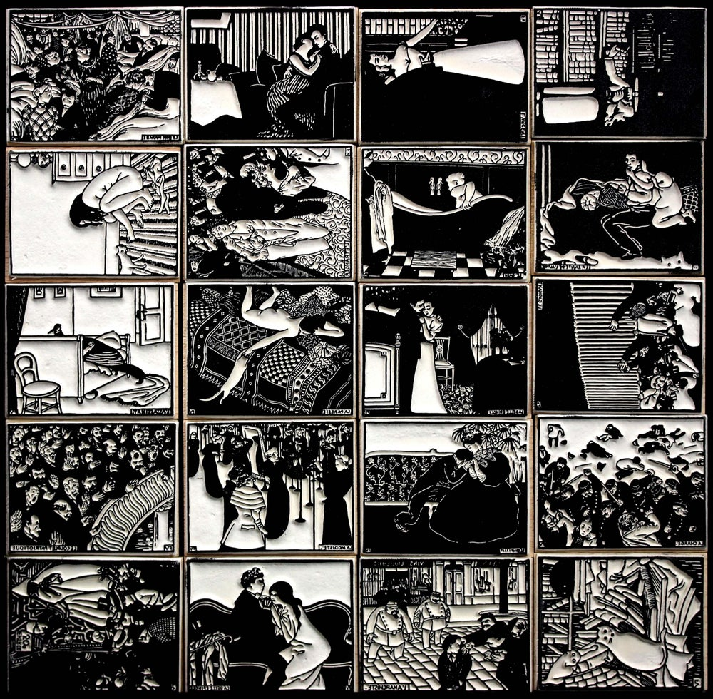 Image of Vallotton : gravures - Vallotton woodcuts