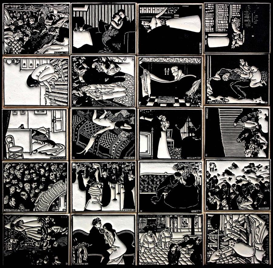 Image of Vallotton : gravures - Vallotton woodcuts