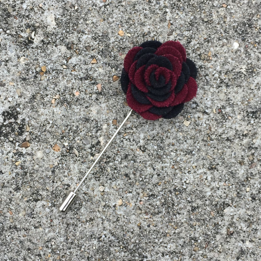 Image of Cherry Chip Felt Lapel Pin
