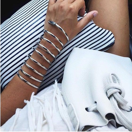 Image of  Pochette stripe