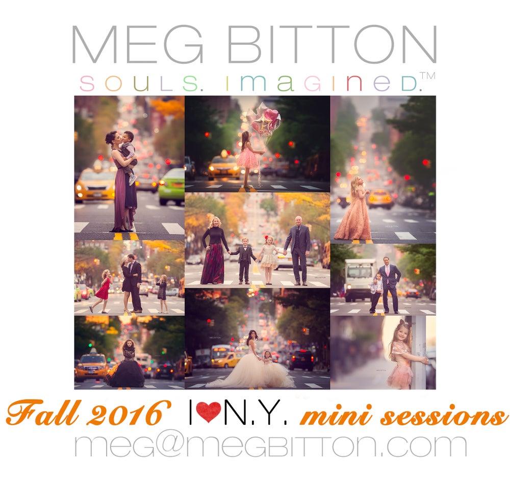 Image of I LOVE NY Mini Sessions 2016