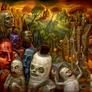 Image of Chris Mars: Cesium Sunset Print