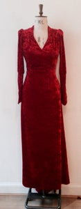 Image of Velvet maxi dress