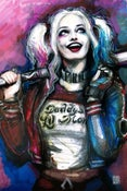 Image of Harley Quinn - 24x36 Canvas