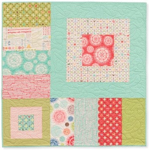 Image of sweet cheeks baby quilt