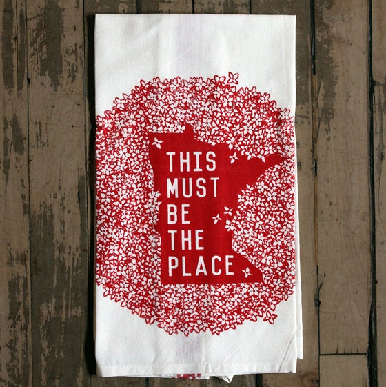Image of Minnesota Must be the Place Towel