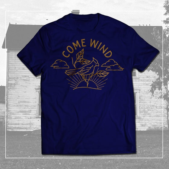 Image of Come Wind Bird Logo Shirt