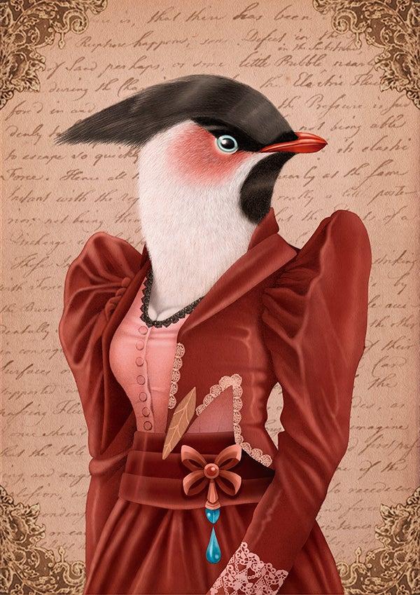 Image of Greta the bird