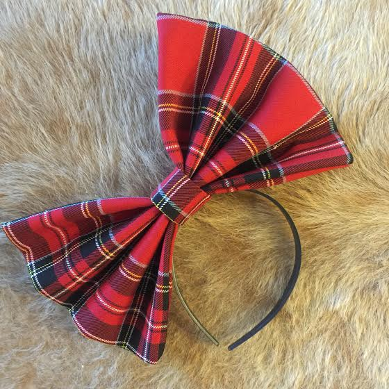 """Image of """"TIMBER"""" Hair Bow *Handmade by Millionaires*"""