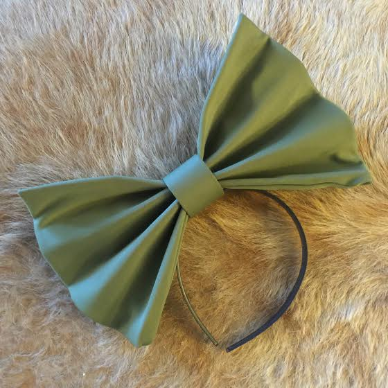 "Image of ""AVOCADO"" Hair Bow *Handmade by Millionaires*"