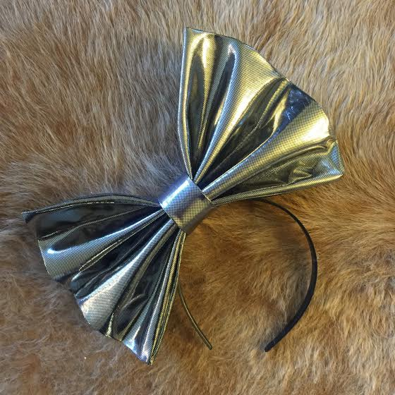 """Image of """"SORRY I'M PERFECT"""" Hair Bow *Handmade by Millionaires*"""
