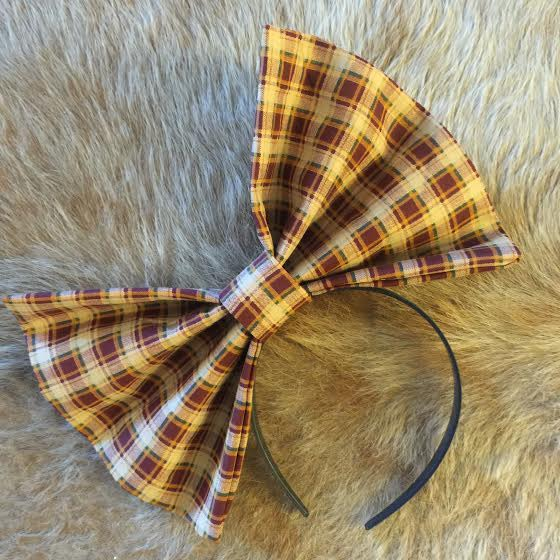 "Image of ""FALL 4 U"" Hair Bow *Handmade by Millionaires*"