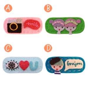 Image of big girl hair clips #26