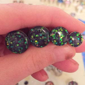 "Image of Mermaid Scale Plugs (sizes 0g-2"")"