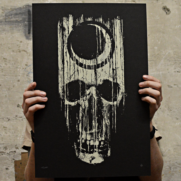 "Image of ""Dying Light"" Screenprint"