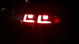 Image of Complete Brake / Turn / Tail LED Kit - Bright - Error Free - Fits: MKVII 2015+ Volkswagen GTI/Golf