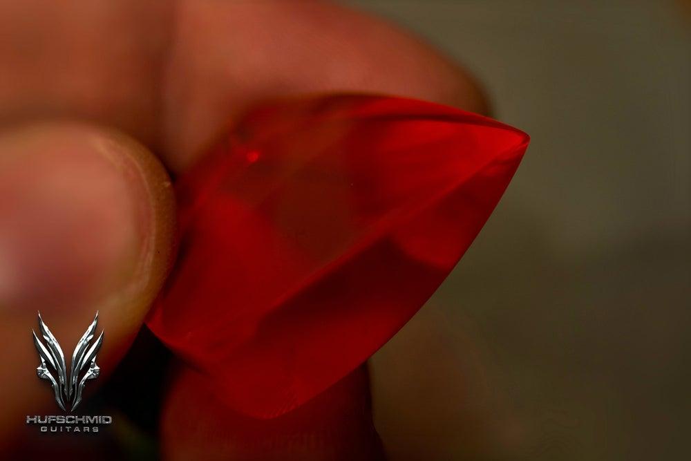 Image of The original 'MINI Anvil' RED MARS FLUO ACRYLIC