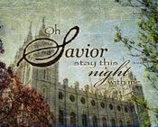Image of Savior Stay This Night With Me: Salt Lake City Utah LDS Temple Art