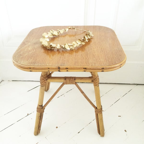 Image of FEROA PETITE TABLE D'apoint en rotin