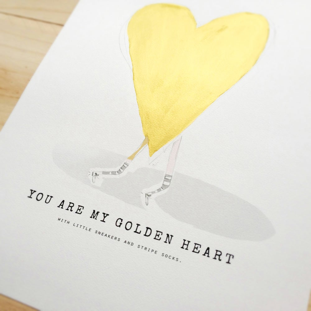 Image of ART PRINT | YOU ARE MY GOLDEN YEART