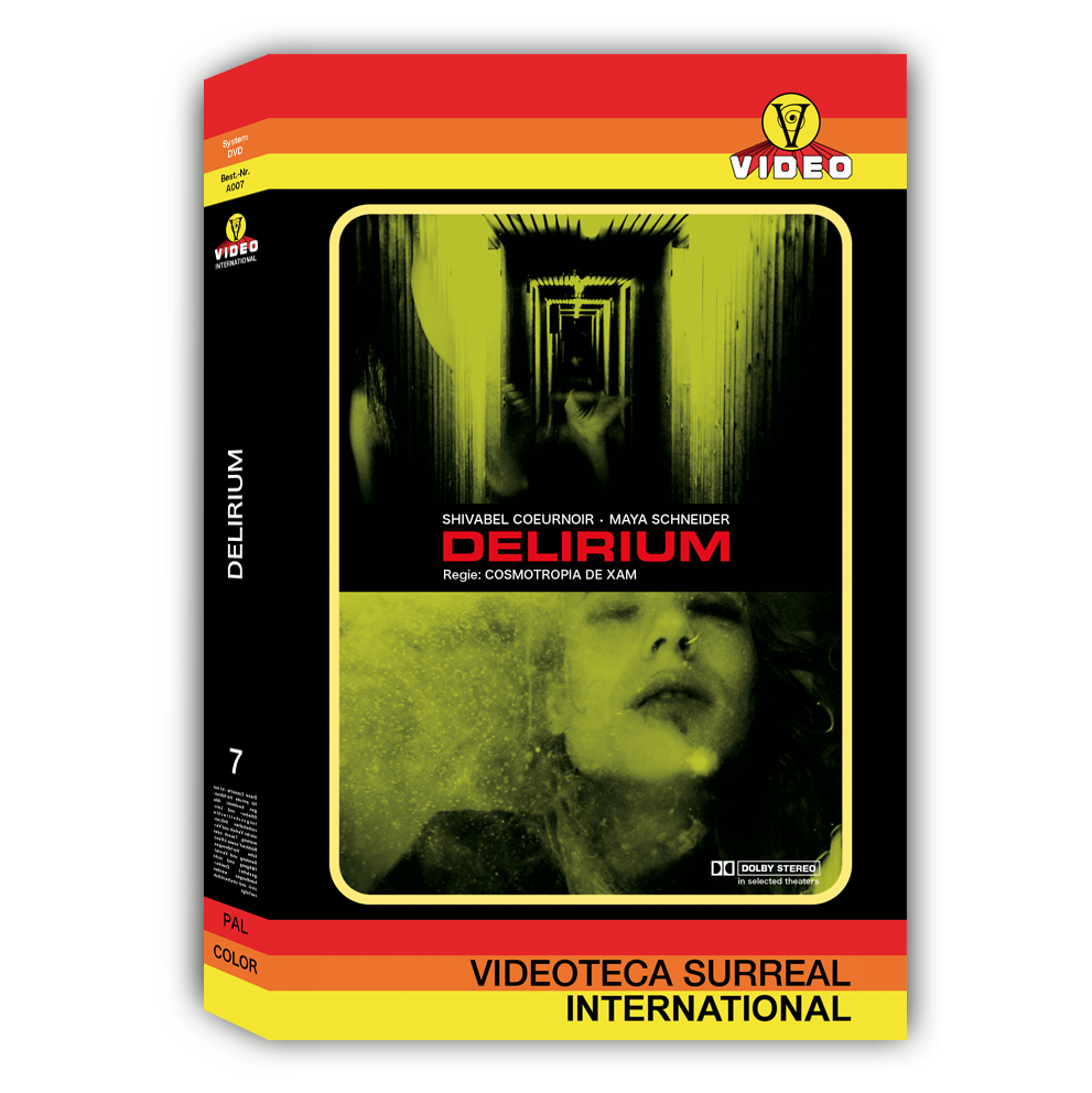 Image of DELIRIUM - DVD HARDBOX DESIGN C (VINTAGE)
