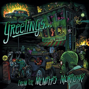 "Image of Greetings From The Memphis Mortuary 7"" EP"