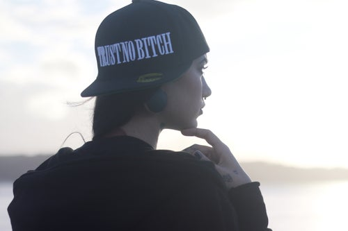 Image of TRUST NO BITCH - SnapBack