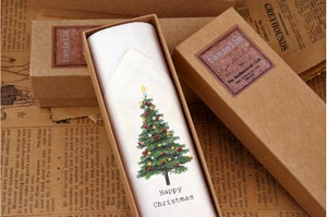 Image of Men's Christmas Tree hankie