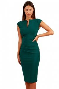 Image of Body con sleeveless - green