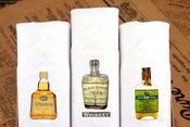 Image of Set of III men's Hankies: Whiskey