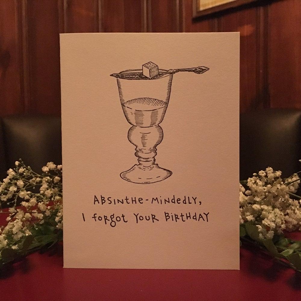 Image of Absinthe-Mindedly