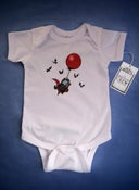 Image of The Skelton Crew Collection - Fly By Night onesie FREE U.S. SHIPPING FOR HALLOWEEN!