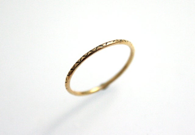Image of Anillo Minimal Tribal