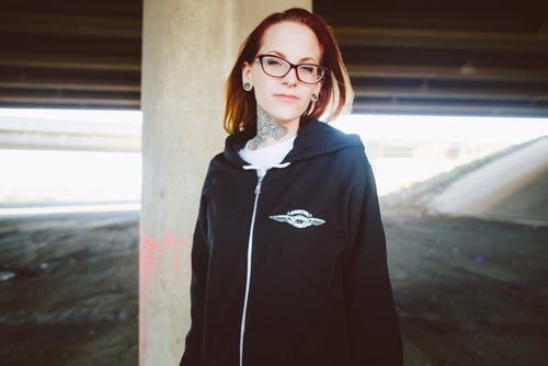 Image of Doomtree No Kings Zip-Up Hoodie