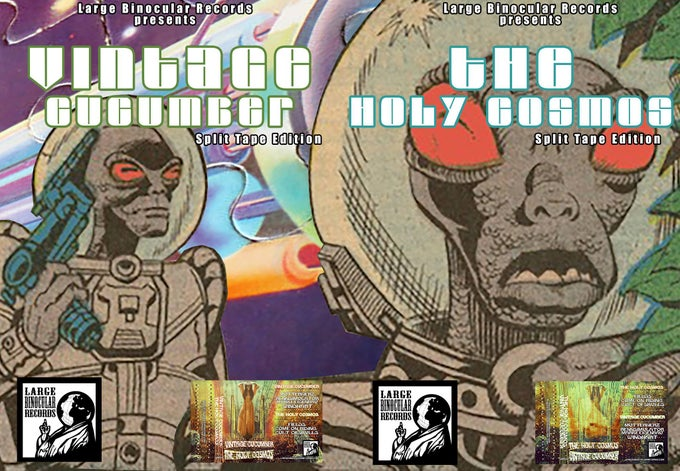 Image of Vintage Cucumber/Holy Cosmos Split Tape