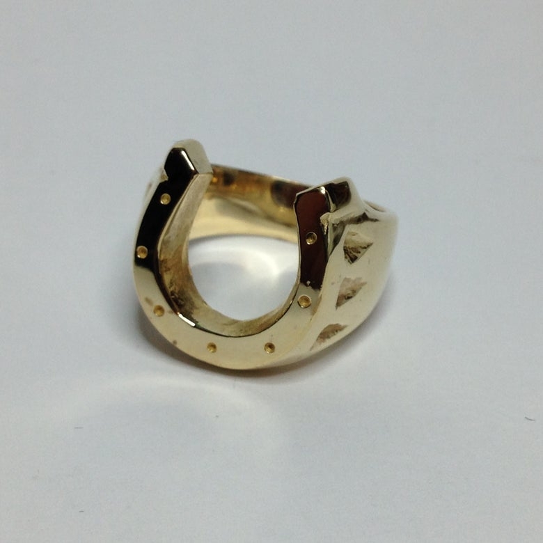 Image of Bronze Horse Shoe Ring