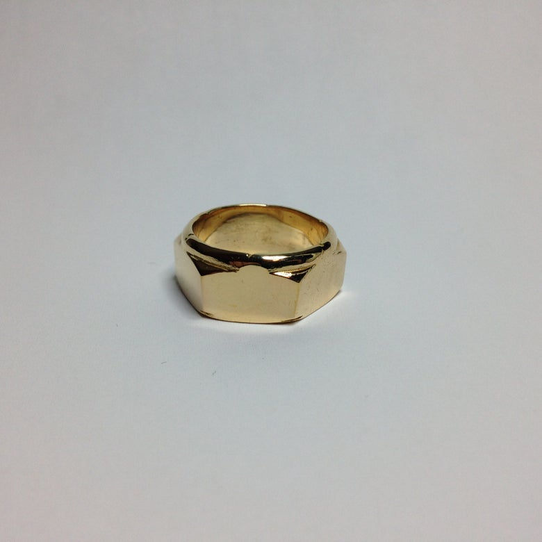 Image of Bronze Nut Ring